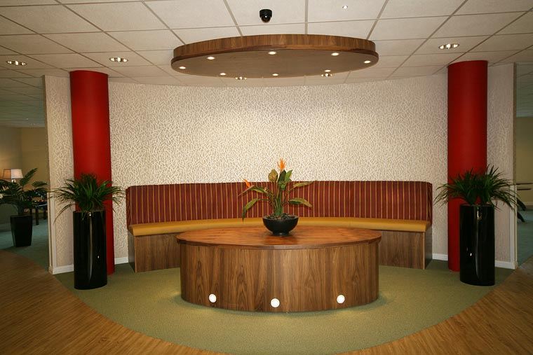 reception desks and reception counters