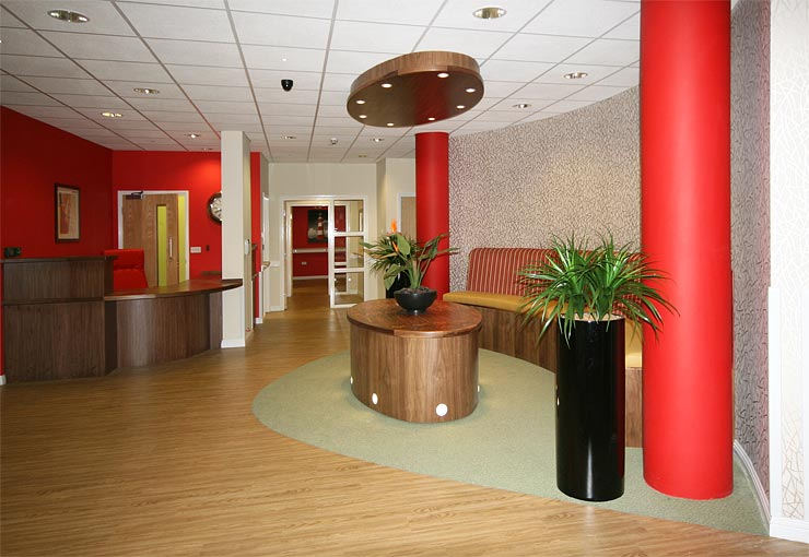 Your care home reception area creates an important first. Reception Desks and Reception Counters   Bespoke Furniture for